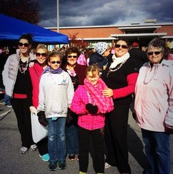 Team Adirondack Winery at the Making Strides For Breast Cancer walk