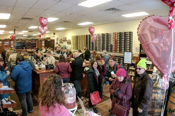 Valentine's Day at the Adirondack Winery Lake George Tasting Room