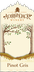 Pinot Gris Trees Label