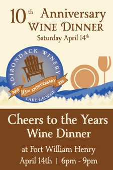 Cheers to the Years Wine Dinner Ticket