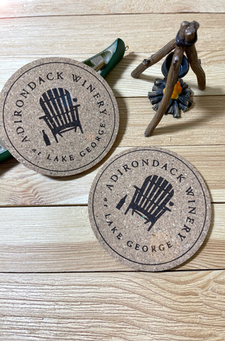 Adirondack Winery Cork Coaster