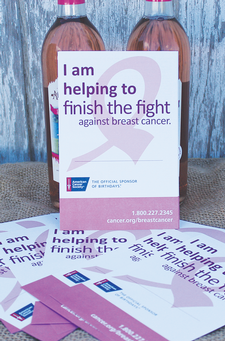 Making Strides Donation Card