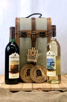 2-Bottle Gift Trunk Set With Pinot Noir & Pinot Gris