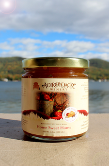 Home Sweet Home Apple Pie Wine Infused Jelly