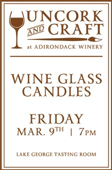 Uncork & Craft: Wine Glass Candles