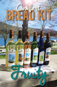 Bread Comfort Kit - Fruity Wines
