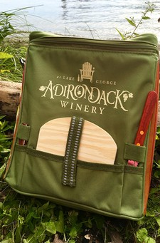 Adirondack Winery Wine Picnic Cooler Bag