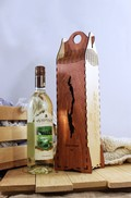Single Bottle Gift Box & Chardonnay