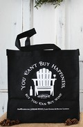 Black 6 Bottle Wine Tote -