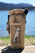 Logo Grab & Go Insulated Bottle Carrier