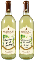 Pinot Gris - Personalized Label