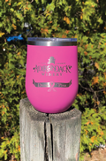 Drink Pink Stainless Steel Wine Tumbler