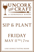 Uncork & Craft: Sip & Plant
