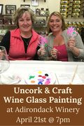 Uncork & Craft: Wine Glass Painting (April 21)