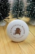 Adirondack Winery White Ceramic Stopper Image