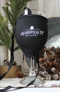 Insulated Logo Wine Glass Lanyard
