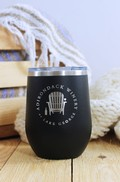 Adk Winery Logo Stainless Steel Wine Tumbler Sippy Cup
