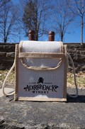 Adirondack Winery Jute 2 Bottle Bag