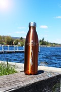 True2Go Metallic Logo Water Bottle