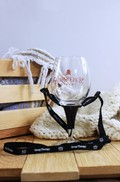 Wine Glass Necklace Holder - Got Wine Group Therapy