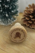 Adirondack Winery Wood Bottle Stopper Image