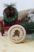 Adirondack Winery Wood Bottle Stopper