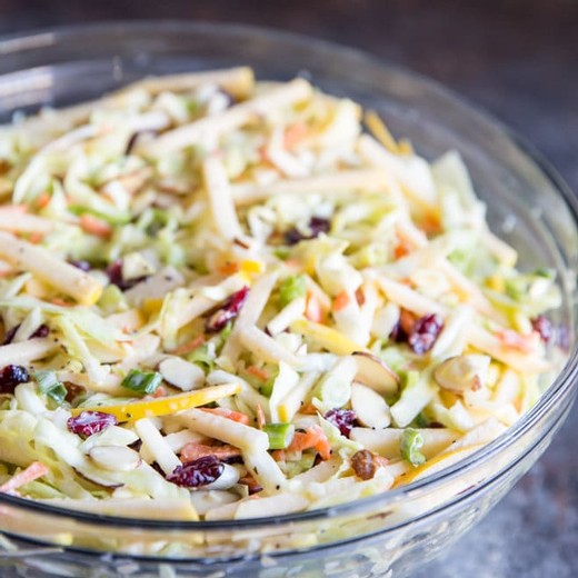 Easy Peasy Coleslaw