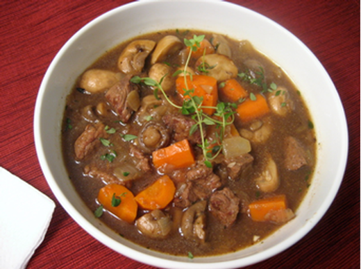 Red Wine Infused Beef Stew