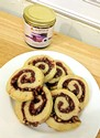 Blackberry Walnut Pinwheels